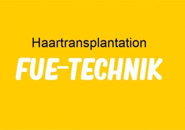 Haartransplant FUE-Technik